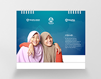 Calendar 2015 Design of PT Takaful Indonesia Insurance