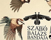 Szabó Balázs Bandája & Konyha / concert posters