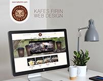 Kafes Fırın - Web Design