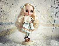 Goldilocks & the Three Bears - art dolls