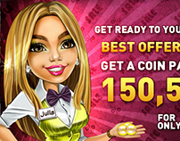 Main Character for Miracle Slots&Casino