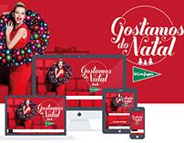 Christmas site - Gostamos do Natal