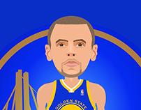 Steph Curry Illustration