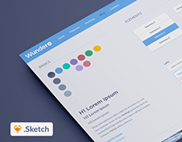 WunderUI - Sketch 3 user interface freebie