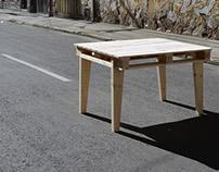 CP1. Mesa con estiba