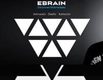 EBRAIN  (ERICK BURGO RAIN) Web design.