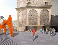 Competition New exit of the Medici Chapels Florence