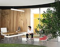 LOWE MENA Offices Interior Design in Riyadh