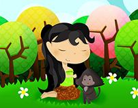 Lutung Kasarung - Children Story Book