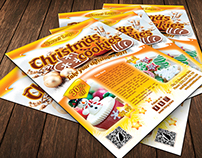 Christmas Cookies Flyer Template