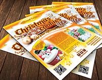 Christmas Cookies Flyer Template