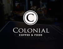 Colonial Café - Menu design & others