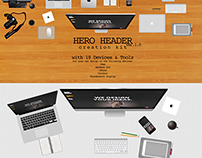 HERO HEADER Creation Kit