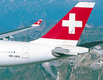Identity for SWISS International Air Lines