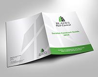 BLADES Pest Control Presentation Folder