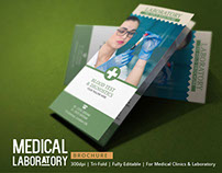 Medical Brochure Template - Blood Test Lab