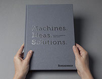 Machines. Ideas. Solutions.