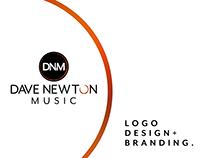 Dave Newton Music - Logo Design & Branding