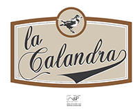 "Logo Design for ""La Calandra"""