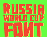 Russia World Cup - Free Font