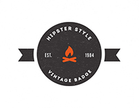 Trendy Vintage Logos & Badges