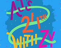 AJ's 24th with ZY