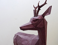 DEER SCULPTURE (Artemis)