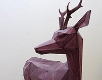DEER SCULPTURE (Artemis)