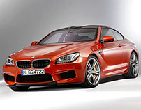 BMW M6 Coupe - 3D Max Project