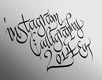 Instagram Calligraphy 2014 eat