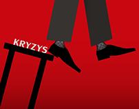 """Plakat """"Kryzys"""" (Poster """"Crisis"""")"""
