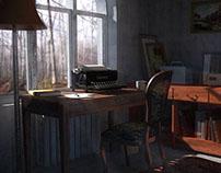 A writer's corner