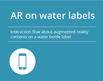 AR on water labels