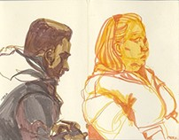 Sketches of Strangers and other Strange Sketches