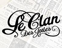 Branding - Le Clan des Jules
