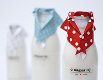 Milk packaging / magyar tej