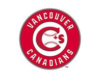 Vancouver Canadians - Numeral Set