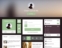Clean Cut UI Kit