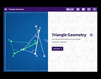Discovery Channel's Math UI: Triangle Geometry