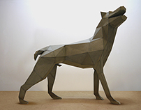 DOG SCULPTURE (Canis Major)