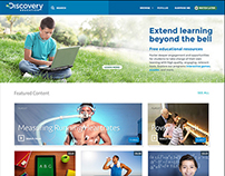 Discovery Channel Website Redesign