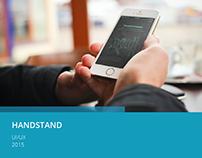 [UX] HandStand App