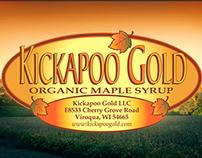 Kickapoo Gold Maple Syrup Ad