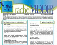 Resume and Business Card Designs