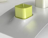 Souvenir candles