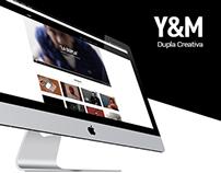 Y&M |Dupla Creativa / Sitio Web