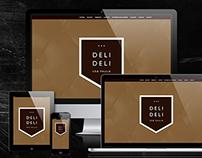 Web site Paralax Deli Deli