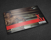 Ali Boxing Fitness Training Brochure