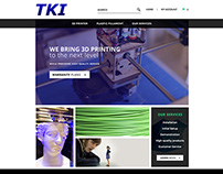 Website Design for TKI3D