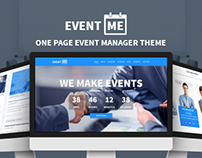 Eventme - One Page Event Landing Template